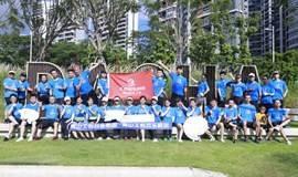 南山工会欢乐跑团10公里友谊赛暨桃源分团成立仪式!
