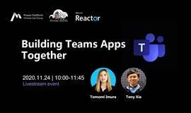 Online Event | Building Teams Apps Together
