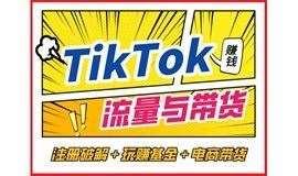 TikTok流量赚快钱 + 带货赚美金:怎样通过TikTok赚到第一个100万?——TikTok流量与电商:玩赚创作者基金 + shopify独立站带货