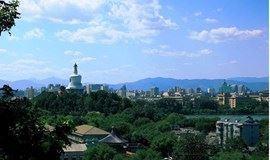 登景山公园,俯览故宫全景(北京活动)
