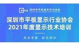 深圳市平板显示行业协会2021年度显示技术培训