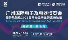 IEAE广州国际电子及电器博览会--暨跨境知道2021亚马逊品牌出海高峰论坛