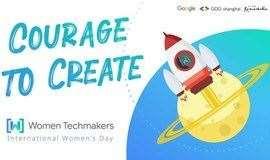 【线下】谷歌女性开发者大会 Women Techmakers #IWD2021
