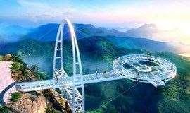 周末1日【石林峡】黄龙七彩瑶池、赏北国石林, 游峡谷险峰,登UFO观景台