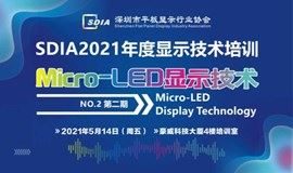SDIA2021年度显示技术培训第二期-Micro-LED显示技术