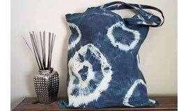 5.9 迷波隆扎染DIY:染出一个独具个人特色的帆布包,背出去再也不怕撞包啦!
