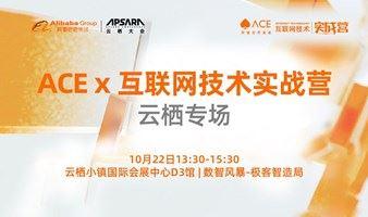 ACE x 互联网技术实战营云栖专场