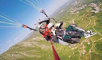 1日 北京滑翔伞体验,高空飞翔滑翔伞项目体验